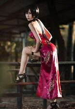 Resident Evil Retribution Ada Wong Kostüm Cosplay Costume cheongsam custom made