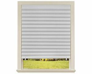 """Original Light Filtering Pleated Paper Shade White 36"""" x 72"""" 6-Pack Durable"""