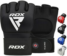RDX MMA Fight Gloves Punching Martial Arts Grappling Muay Thai Training Sparring