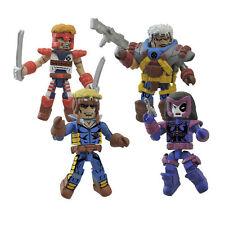 Minimates Diamond Select Marvel legends Classic X-Force Mini-Figure Box Set