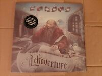 KANSAS - LEFTOVERTURE VINYL LP ORIGINAL SHRINK & STICKER - PLAY TESTED
