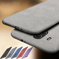 For Huawei Mate 30 20 Lite 10 9 Pro SE Soft TPU Sandstone Matte Back Case Cover