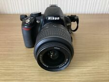 Nikon D D3100 14.2MP Digital SLR Camera Black Kit w/ AF-S DX 18-55mm VR Lens