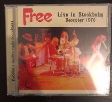 "FREE : ""Live In Stockholm December 1970) (RARECD)"