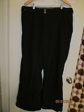 Gerry Black Ski Pants Womens XL
