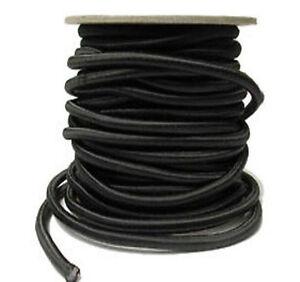 10mm Shock Cord Bungee Rope Black Elastic Shock Cord