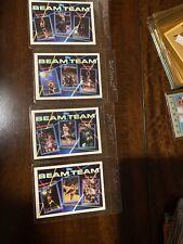 1993-94 Topps Beam Team NBA Complete 7-card Set Jordan #3, Shaq #7, Barkley #1