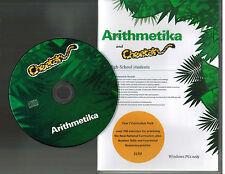 Arithmetika & Cheetah...High School Students...Mathematics...Disk Like New...