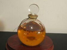 Antique Lalique French Crystal Je Reviens Eau De Cologne Perfume & Bottle