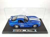 New Ray Toys BLUE 1996 DODGE VIPER GTS COUPE 1:32 Scale NEW in Plastic Case