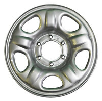 "Genuine Holden Steel Wheel RG Colorado 16x6.5"" Rim Silver 6 Stud GMH NEW"