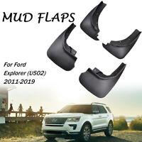 Molded Mud Flaps Mudguards For Ford Explorer 2011-2019 Splash Guards Mudflaps