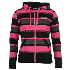 Women's Striped Polyester Hoodies & Sweats