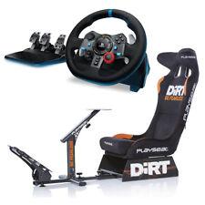 Playseat Evolution Dirt Edition with Logitech G29 Racing Wheel Bundle NEW