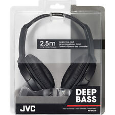JVC HA-RX330 Deep Bass Stereo Headphones 2.5 m / 8.2ft Cord Ideal Home Audio