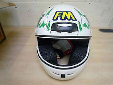 Genuine FM Axe South Park Helmet White Size: 54/XS. New. FREE MAINLAND UK P&P