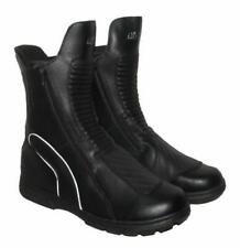 AIR-STAR Mens Motorcycle Biker Boots Black UK 10.5 EU 45 LN43 77