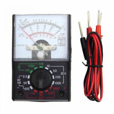 AC/DC 1000V Voltmeter 250mA Ammeter 1000Ω Resistance Meter Analog Multimeter New