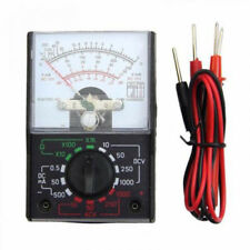 Durable MF-110A Analog Multimeter Voltmeter Ammeter Ohmmeter Handheld