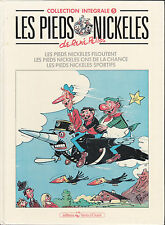 LES PIEDS NICKELES / COLLECTION INTEGRALE / RENE PELLOS /  TOME 5