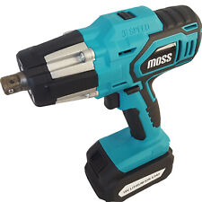 """18V Heavy Duty Electric Impact Wrench 1/2"""" Drive and 4 Sockets 350NM TORQUE"""