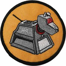 Doctor Who K-9 Computer Dog 4 Inch Wide Iron On Patch