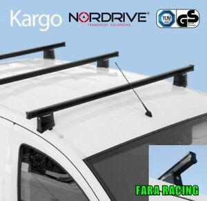 Kit Completo 3 Barre Portatutto 'Kargo' DACIA - Dokker Van 11/12>