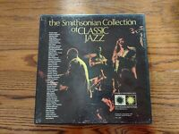 """The Smithsonian Collection Of Classic Jazz, 5 12"""" LP Box Set, P6 11891, BoxR1"""