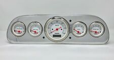 1960 1961 1962 1963 Ford Falcon Gauge Dash Cluster Metric White