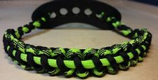 Archery Bow MATCHING shoulder and wrist Sling Decay/grn thin bowtech hoyt elite