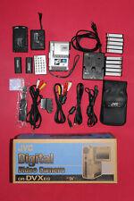 JVC GR-DVXeg MiniDV Digital Video Camera, 100% working + all Accessories, RARE!