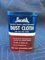 Las'stik Vintage Dust Cloth Tin