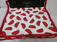 CYNTHIA ROWLEY Watermelon Placemats Set of 4