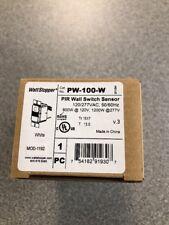 WATTSTOPPER PW-100-W PIR WALL SWITCH OCCUPANCY SENSOR *NEW IN BOX*
