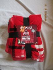 Northwest new with tags ohio state throw Oversized 60x70 super soft