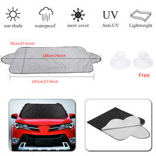 Front Rear Car Windshield Sun Shade Window Visor Cover Snow Ice Dust UV Protect