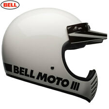 Bell 2020 Cruiser Moto 3 Adult Helmet Classic White Size X Small Free UK Post
