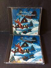 TIME LIFE MUSIC Treasury of Christmas 2 Volume CDs 1987 BMG TCD107A TCD107B EUC