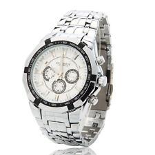 Hot Men CURREN Fashion Cristmas Gift Waterproof Digital Quartz Wrist Watch White