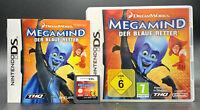 Spiel: MEGAMIND DER BLAUE RETTER für Nintendo DS + Lite + Dsi + XL + 3DS 2DS