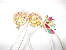 Melody Jane Dolls House illuminazione di ricambio 2 fiamma di candela PORTALAMPADA Wire /& Plug