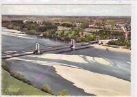 CPSM 45420 BONNY SUR LOIRE Pont sur la Loire Edt COMBIER ca1971