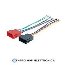 Connettore ISO autoradio maschio 16 Pin alimentazione + altoparlanti
