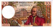 10 Francs Voltaire FRANCE 1974  F.62.31