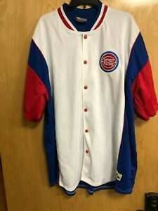 Detroit Pistons Warmup (Hardwood Classics) Coverup 3XL