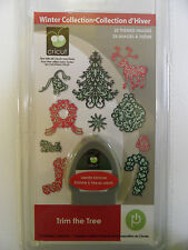NEW!!  Cricut cartridge Trim the Tree!!  Original solutions w/ keypad overlay!!