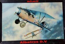Eduard Albatros D.V. Plastic Model Kit 1/48 Scale Kit # 8109