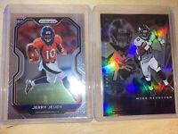 Jerry Jeudy Lot (2) 2020 Panini Prizm & Illusions Base RC Rookie Denver Broncos