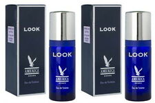 2 PACK AMERICA LOOK BY MILTON LLOYD 50MLEAU DE TOILETTE/AFTERSHAVE SPRAY SMELLS