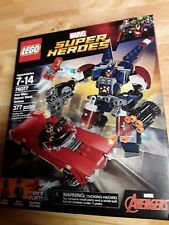 "LEGO MARVEL SUPER HEROES ""IRON MAN: DETROIT STEEL STRIKES"" #76077 - 377 Pieces"